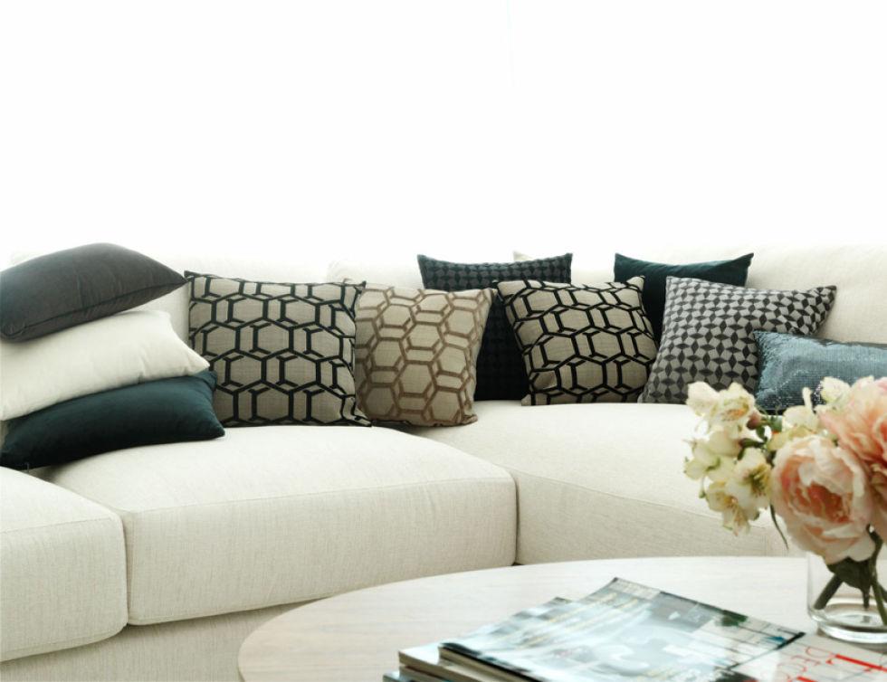 Cojines Modernos Para Sofas. Como Hacer Cojines Decorativos De Amor ...