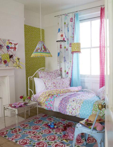 Estrena dormitorio de los peques decorando con telas - Visillos para dormitorios ...