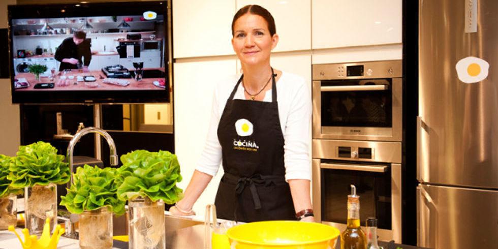 Samantha vallejo n jera xito entre fogones for Canal cocina cocina de familia