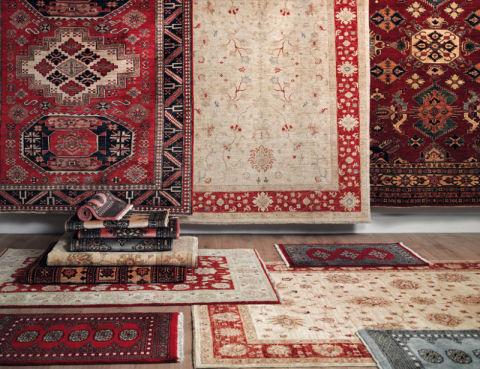Decora con alfombras y aporta calidez a tu hogar for Alfombras dibujos geometricos