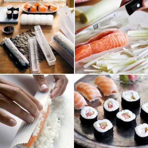 Sushi una delicia de la cocina nipona for Utensilios cocina japonesa