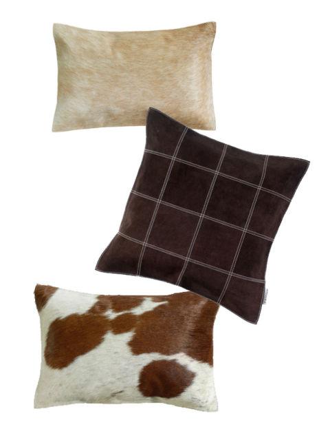 Cambia el look de tu hogar jugando con cojines - Cojines marron chocolate ...
