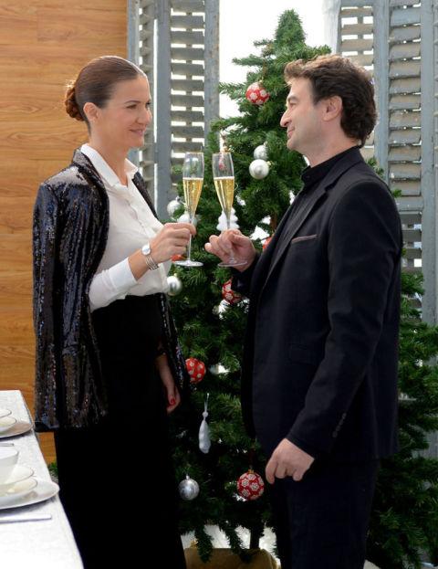 Samantha vallejo n gera y pepe rodr guez nos preparan la cena de nochebuena - Jordi evole con quien esta casado ...