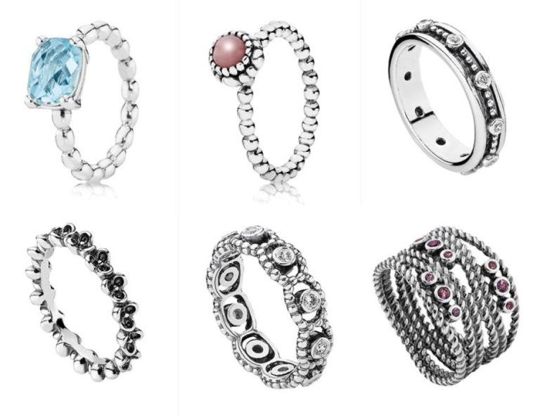 anillos de pandora imitacion