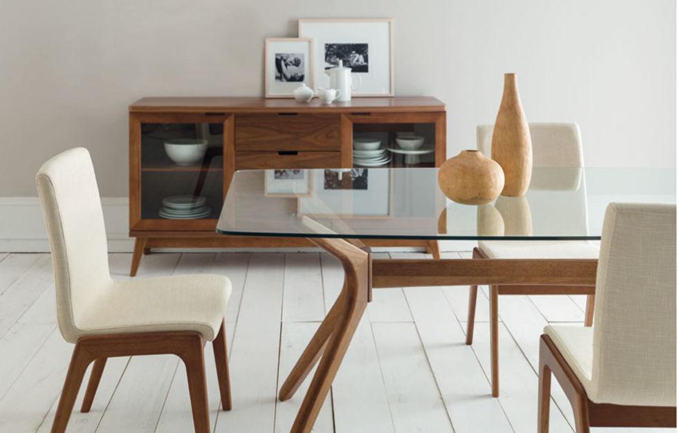 Muebles de madera para sala for Muebles elegantes