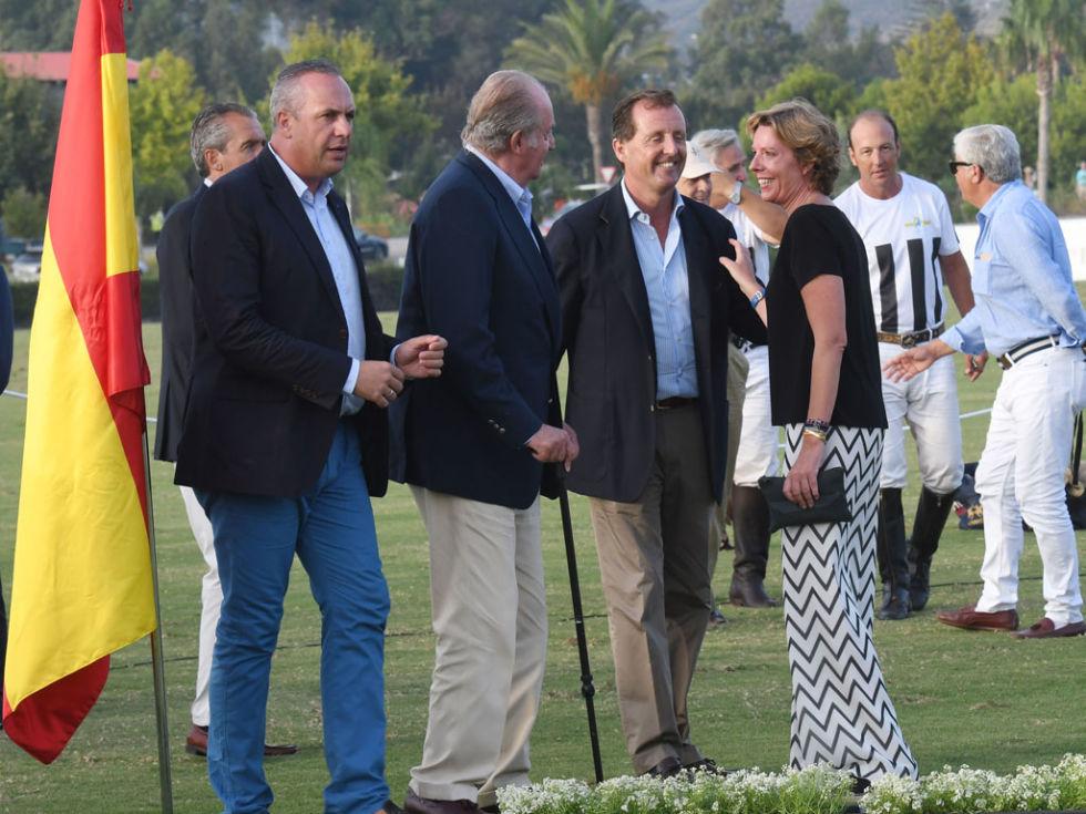 Imperor.net: Новости: аристократия, монархия, luxury, история Король Хуан Карлос на чемпионате по поло