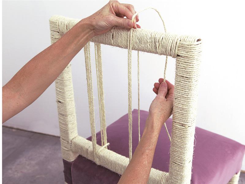 Como se tapiza una silla paso a paso cool cmo tapizar una - Como tapizar una silla paso a paso ...