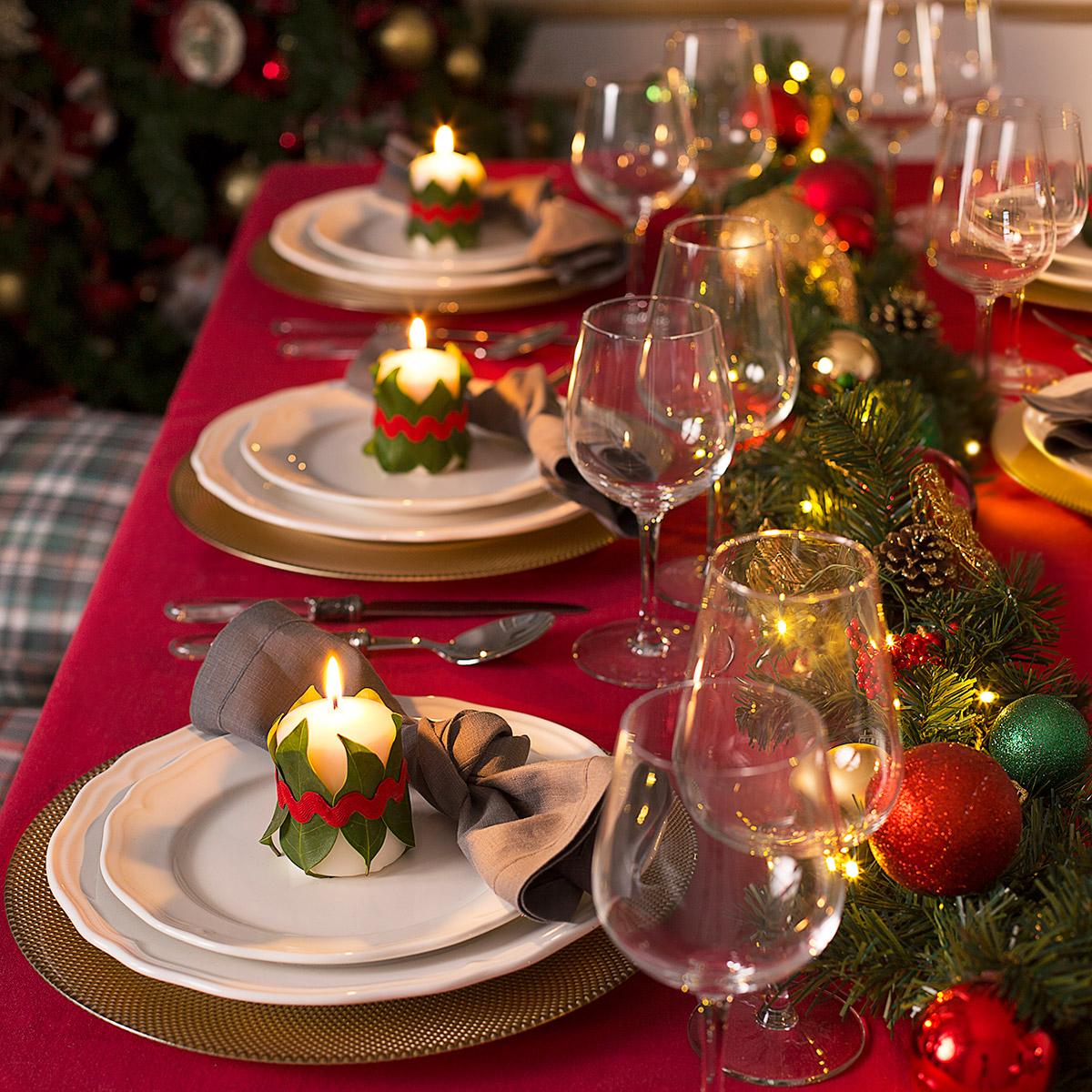 Atractivo Mesas De Navidad Componente Ideas de Decoracin de