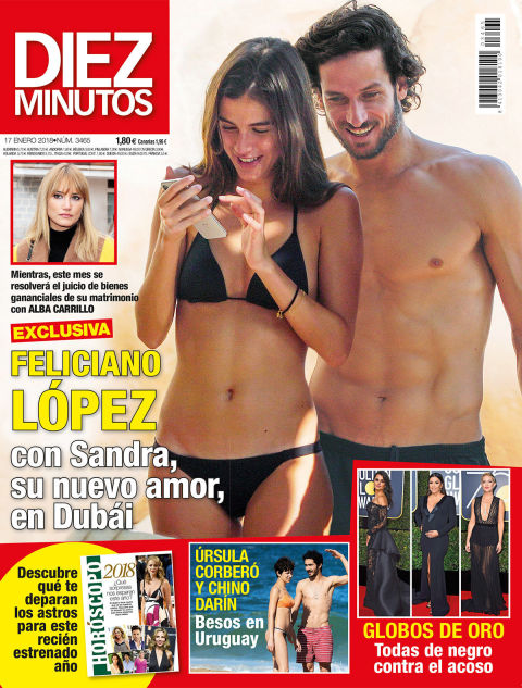 HOY EN DIEZ MINUTOS EXCLUSIVA Feliciano López, con su nuevo amor en Dubái