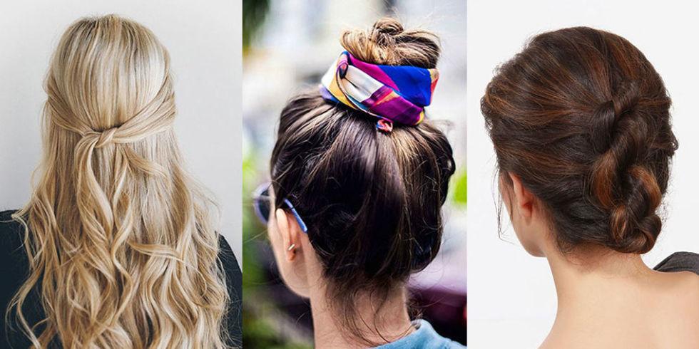 Explicación peinados para verano Galería de cortes de pelo estilo - 12 peinados fáciles para el verano en Pinterest